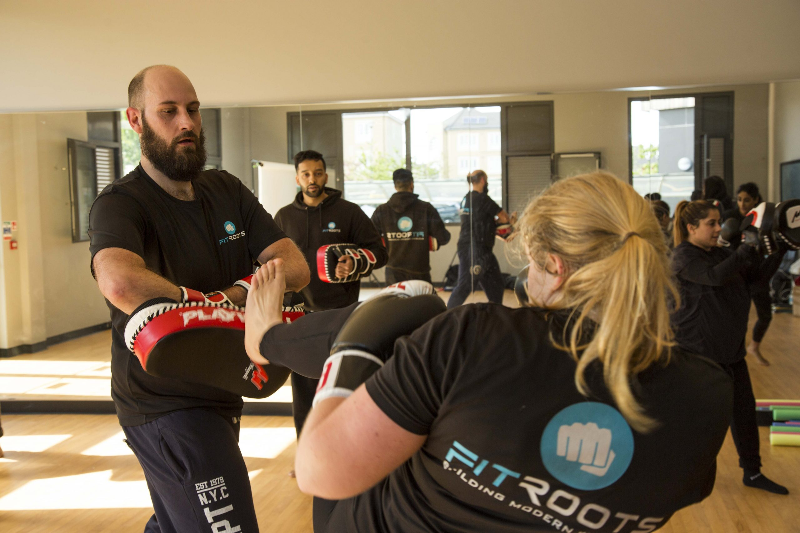 Adult's Kickboxing and Martial Arts Class at FitRoots