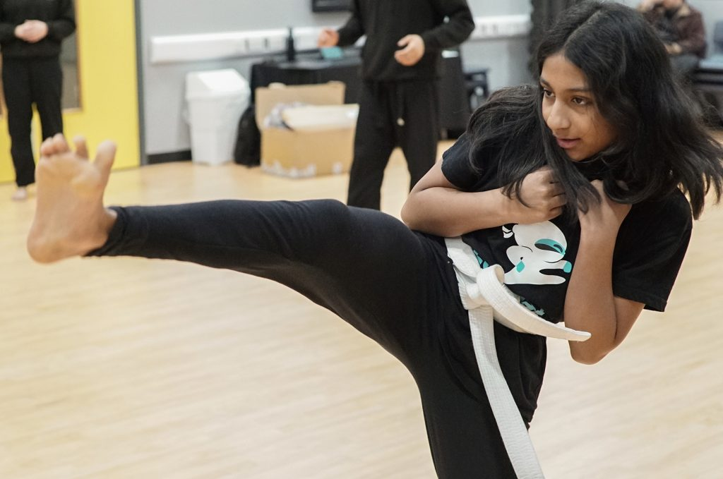Combat Warriors Kids Martial Arts Class in Slough