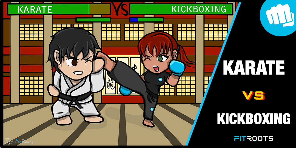 Karate Vs Kickboxing