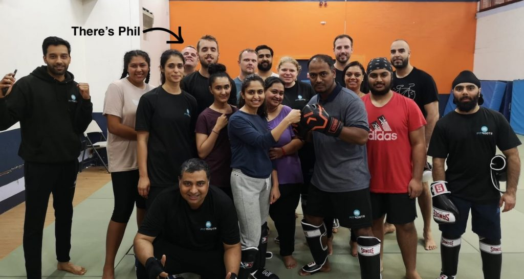 Phil Training at FitRoots