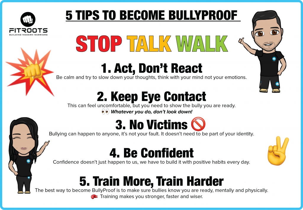 5 Tips To Become BullyProof