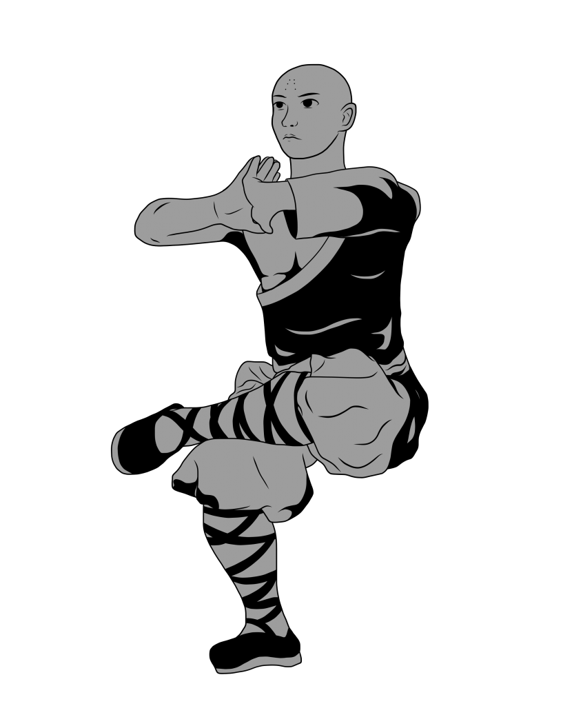 Shaolin-Monk-FitRoots-Comic